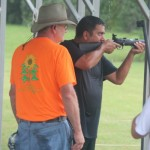Ed shooting after the 2nd mile